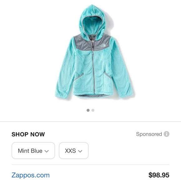 ... girls Oso fleece hoodie mint blue. M 5bea412d619745fde2657389 d7ac7f076